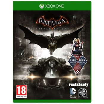 Игра за конзола Batman: Arkham Knight + подарък ключодържател, за Xbox One image