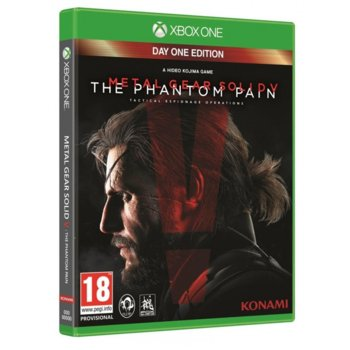 Игра за конзола Metal Gear Solid V: The Phantom Pain - Day 1 Edition, за Xbox One image