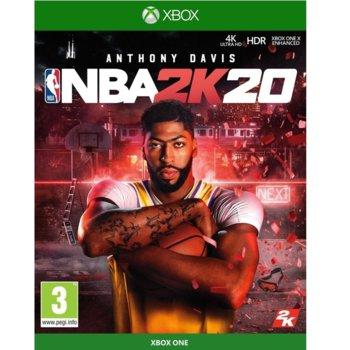 Игра за конзола NBA 2K20, за Xbox One image