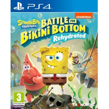 Игра за конзола Spongebob SquarePants: Battle for Bikini Bottom - Rehydrated, за PS4 image
