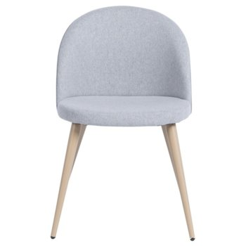 Трапезен стол Carmen 514, дамаска, сив image