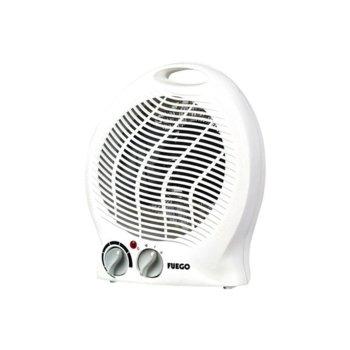 Вентилаторна печка Fuego FH-011, 2 степени, термостат, мощност 2000W image