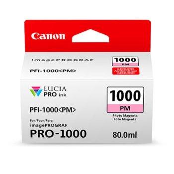 ГЛАВА ЗА Canon imagePROGRAF PRO-1000 - Magenta - 0551C001AA P№ PFI-100 - 80ml image