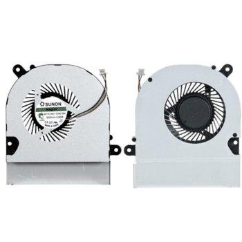 Вентилатор за лаптоп Asus, съвместим с Asus K45 A45 (3 кабела) image