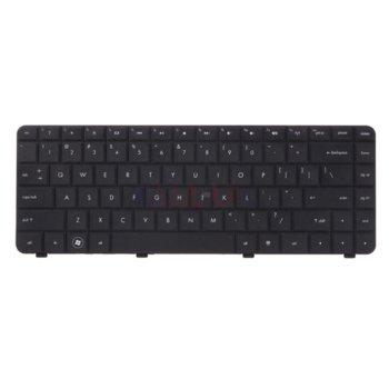Клавиатура за HP G42 G42-100 G42-200 G42-300 Compaq Presario CQ42 CQ42-100, US, черна image