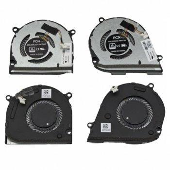 Вентилатор за HP Envy X360 15-DR, 15-DS, 4pin, 5V - 0.5A image