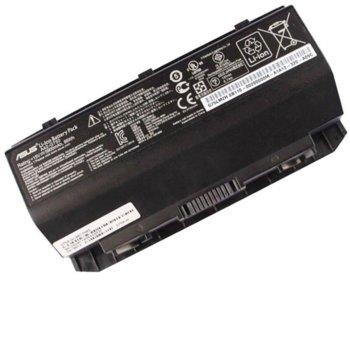Батерия (оригинална) за лаптоп Asus, съвместима с модели G750/G750JH/G750JM/G750JS/G750JW/G750JX/G750JY/G750JZ/GFX70J/GFX70JZ, 8-cell, 15V, 5900mAh image