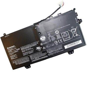 Батерия (оригинална) за лаптоп Lenovo, съвместима с LENOVO Yoga 3 11/ 11 80J8/ 11 Convertible/ 11-5Y10/ 11-5Y10(D)/11-5Y10c/ 11-5Y71, 7.4V, 4500mAh image