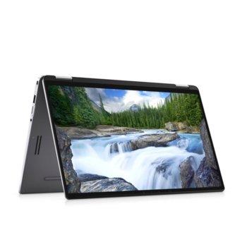 "Лаптоп Dell Latitude 9410 2in1 (N002L9410142IN1EMEA)(сив), четириядрен Comet Lake Intel Core i5-10210U 1.6/4.2 GHz, 14.0"" (35.56 cm) Full HD Touchscreen Anti-Glare Display, (HDMI), 8GB, 256GB SSD, 2x USB 3.2 Type-C, Windows 10 Pro image"