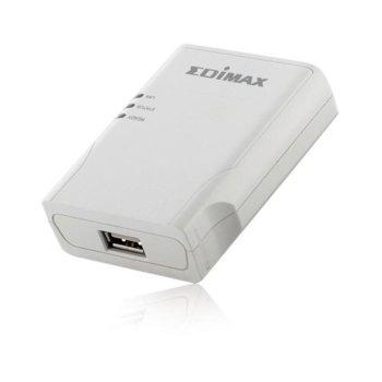 PrintServer Edimax PS-1206U, 1x 10/100Mbps LAN port, 1х USB image