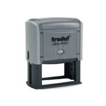 Автоматичен печат Trodat 4926 черен, 38/75 mm, правоъгълен image