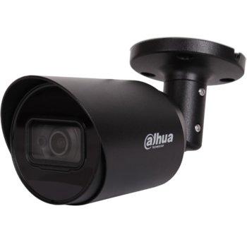 "HDCVI камера Dahua HAC-HFW1200T-0280B-BLACK, насочена ""bullet"" камера, 2MP (1920x1080@30fps), 2.8 mm, IR осветление (до 20m), IP67 image"