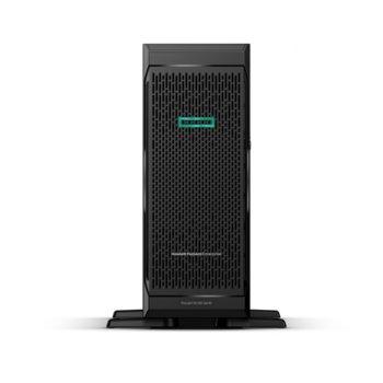 Сървър HPE ML350 G10 (PERFML350-005), десетядрен Intel Xeon Silver 4210 2.2 GHz, 4x 16GB RDIMM DDR4, 4x Gigabit Ethernet, DisplayPort, 3x USB 3.0, без ОС, 2x 800W image