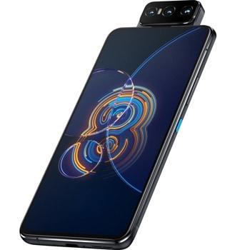 """Смартфон Asus Zenfone 8 Flip (черен), поддържа 2 SIM карти, 6.67"""" (16.94 cm) FHD+ Super AMOLED 90Hz дисплей, осемядрен Snapdragon 888 5G 2.84 GHz, 8GB RAM, 256GB Flash памет, 64.0 + 12.0 + 8.0 MPix камера, Android, 230g image"""