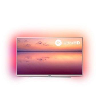 "Телевизор Philips 43PUS6804/12, 43"" (109.22 cm)UHD/4K Smart LED TV, DVB-T/T2/T2-HD/C/S/S2, LAN, Wi-Fi 3x HDMI, 2x USB, Ambilight image"