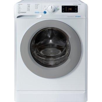 Пералня със сушилня Indesit BDE 961483X WS EU N, клас А, капацитет пералня 9кг./6кг. сушилня, 1400 обр./мин, свободностояща, 60см ширина, цифров дисплей, таймер за отложен старт, бяла  image
