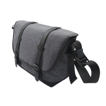 "Чанта за фотоапарат Canon Messenger Bag MS10, за DSLR фотоапарат и 2x обектива, полиестер, джоб за 9.7"" таблет, сива image"