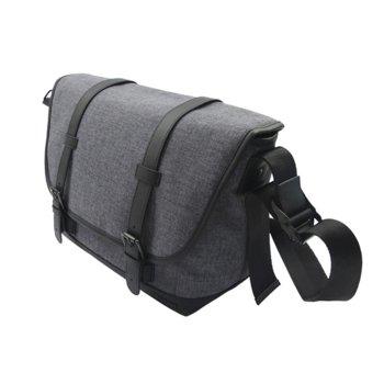 """Чанта за фотоапарат Canon Messenger Bag MS10, за DSLR фотоапарат и 2x обектива, полиестер, джоб за 9.7"""" таблет, сива image"""
