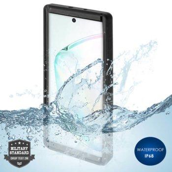 Калъф за Samsung Galaxy Note 10 Plus, хибриден, 4Smarts Rugged Active Pro STARK 4S467518, удароустойчив, водоустойчив, черен image