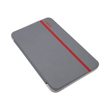 """Калъф за таблет, до 7"""" (17.78 cm), """"бележник"""", за MeMO Pad 7, червен image"""
