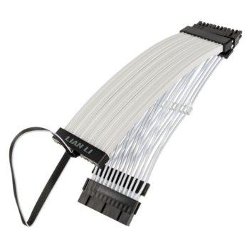Захранващ кабел Lian Li Strimer Plus, 24pin PCIe, RGB, 0.3 m., бели image