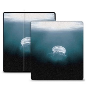 """Калъф за електронна книга с подарък протектор за екрани и стилус, за Kindle Oasis 6"""" (15.24 cm), многоцветен image"""