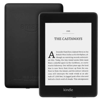 """Електронна книга Amazon Kindle Paperwhite (2018г), 6"""" (15.24 cm) Grayscale E-ink дисплей, Wi-Fi, USB, Водоустойчив, 8GB Flash памет, черен image"""