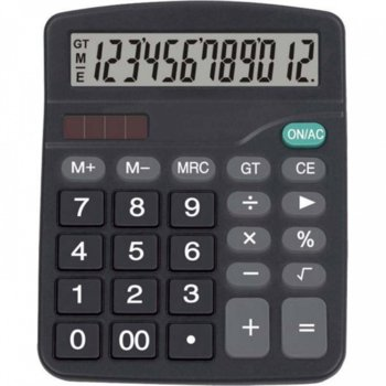 Калкулатор Centrum 80402, LCD дисплей, черен image