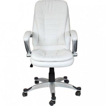 Стол Cosmos еко кожа бял product