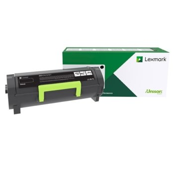 Тонер касета за Lexmark MX521de/MS421dw/MS521dn/MX521ade/MX622ade/MS621dn/MX522adhe/MS622de/MX622adhe/MS321dn/MX321adw/MX321adn/MS421dn/MX421ade, - Black - 56F2000 - Lexmark - Заб.: 6000 к image
