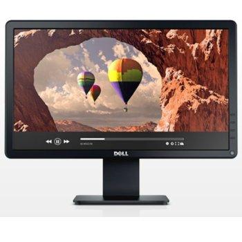 """Монитор Dell E1914H, 18.5"""" (47 cm) TN панел, HD, 5ms, 600:1, 200cd/m2, 1x VGA image"""