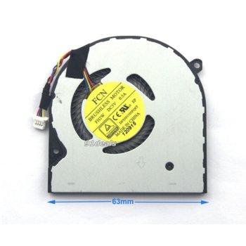 Вентилатор за лаптоп, съвместим с Toshiba Satellite Radius12 P20w-C P25w-C P25w-C2300-4K P25w-C2302 image