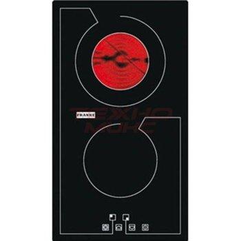 Стъклокерамичен плот за вграждане FRANKE TX 302 XS, 2 нагревателни зони, сензорно управление, черен image