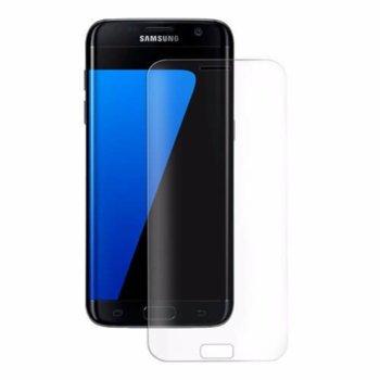 Протектор от закалено стъкло /Tempered Glass/, Eiger, за Galaxy S7 Edge (смартфон) image