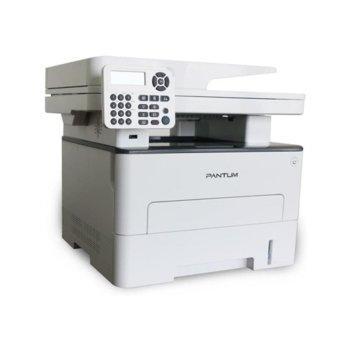 Мултифункционално лазерно устройство Pantum M7200FDN в комплект с рефил 6000 страници, принтер/копир/скенер/факс, 1200 x 1200 dpi, 33 стр./мин, LAN, USB, A4, ADF image