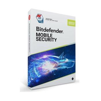 Софтуер Bitdefender Mobile Security, за Android, 1 потребител, 1 година image
