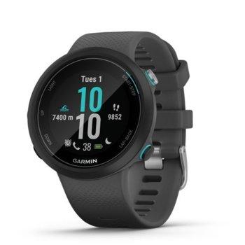 """Смарт часовник Garmin Swim 2, презназначен за плуване, 1.04"""" (2.63 cm) дисплей, пулсометър, режим плуване в басейн, режим плуване на открито, GPS, черен image"""