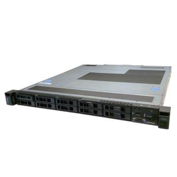 Сървър Lenovo ThinkSystem SR250 (7Y521002EA), шестядрен Coffee Lake Intel Xeon E-2276G 3.8/4.9 GHz, 16GB DDR4, 2x 1GbE, No OS, 1x 450W PSU image