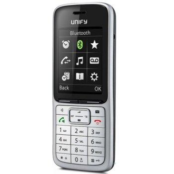 Безжичен телефон Unify Siemens OpenStage DECT Phone SL5, Функция бързо набиране, Високоговорител, Подсветка на клавиатурата, Обхват около 300 м на открито/50 м на закрито, бял image