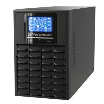UPS PowerWalker VFI 1000 C LCD, 1000VA/800W, On Line image