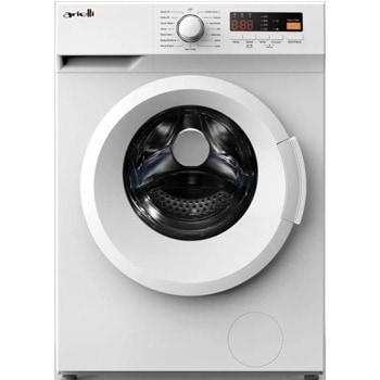 Пералня Arielli AWM-6123N, клас A+++, 6 кг. капацитет на пералня, 1200 оборота в минута, 15 програми, свободностояща, 59.5 cm, дисплей, регулируема температура, бяла image