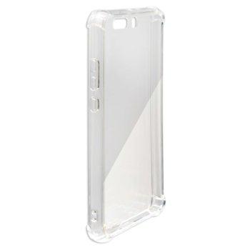 Калъф Huawei P10, термополиуретанов протектор, поликарбонат, 4smarts, Hard Cover Ibiza, прозрачен image