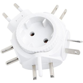 Power Adapter Travel Euro plug, 2500W, 250V/10A product