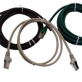 Пач кабел Intellinet, UTP, Cat6, 3m, сив image