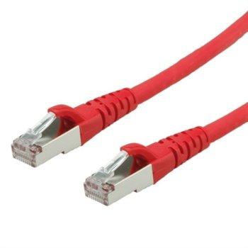 Пач кабел Roline, S/FTP, Cat.6, 2m, червен image