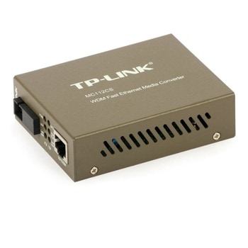 TP-Link MC112CS 10/100Mbps WDM Media Converter image