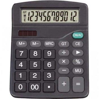 Калкулатор Centrum 80403, LCD дисплей, черен image