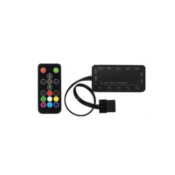 Контролер Makki, до 10 вентилатора, 6-pin, дистанционно управление, RGB image