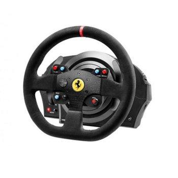 Волан Thrustmaster T300 Ferrari Integral Alcantara, Force Feedback, за PC/PS3/PS4 image