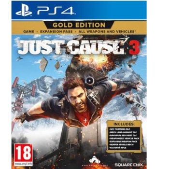 Игра за конзола Just Cause 3 Gold Edition, за PS4 image